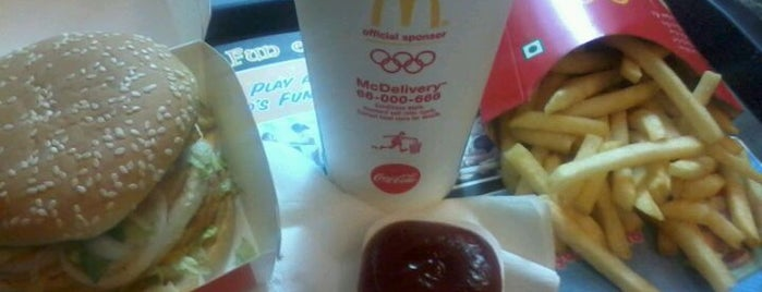 McDonald's is one of Guide to Mumbai's best spots.