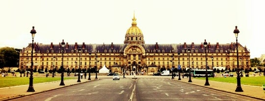 Esplanade des Invalides is one of Dan's Places.