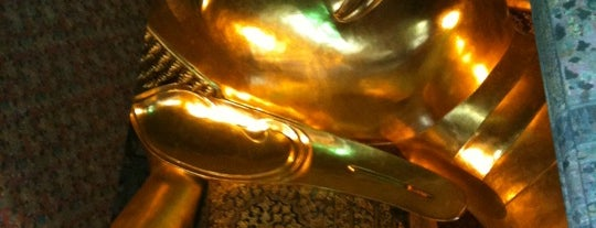 Wat Pho is one of Top 10 favorites places in Bangkok, Thailand.