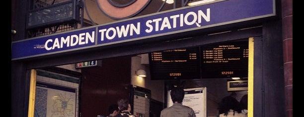 Métro Camden Town is one of istiyorumgidicem!!.