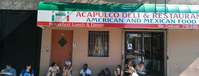 Acapulco Restaurant is one of Williamsburg/Greenpoint Food.