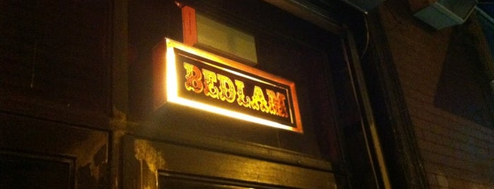 Bedlam is one of East Village.