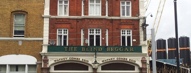 The Blind Beggar is one of London.