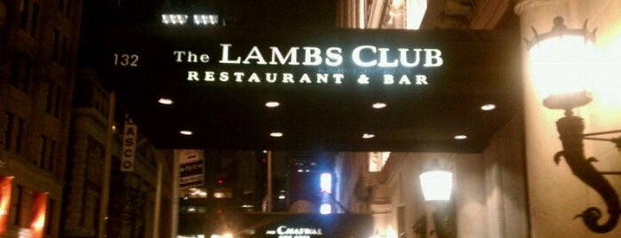 The Lambs Club is one of The Block is Hot #midtown.