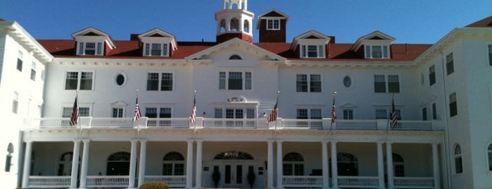 Stanley Hotel is one of Haunted to-do list.
