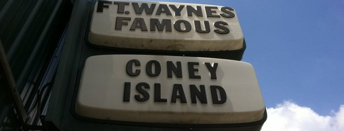 Coney Island is one of Fort Wayne Food.