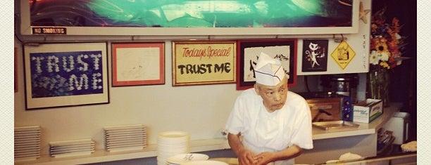 SUGARFISH by sushi nozawa is one of live to eat..