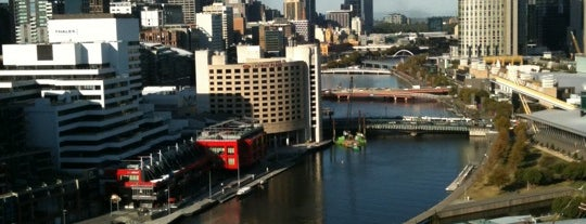 Hilton Melbourne South Wharf is one of Places to enjoy our wine.