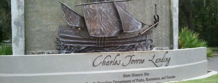 Charles Towne Landing is one of Charleston, SC.