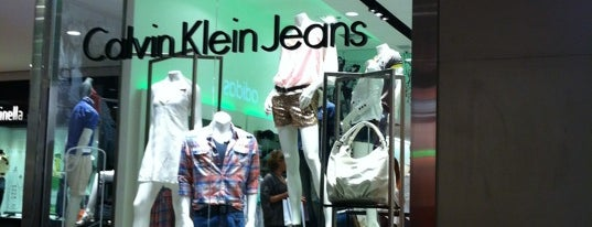 Calvin Klein is one of ParkShoppingSãoCaetano.