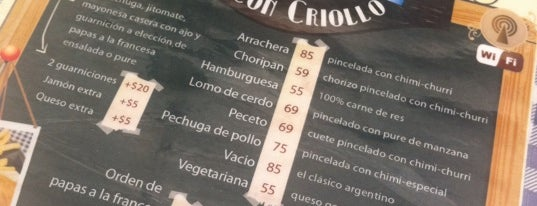 Rincon Criollo is one of Circuito Roma-Condesa.