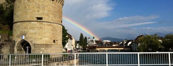 Nölliturm is one of Discover Lucerne.