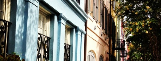 Rainbow Row is one of my charleston places.