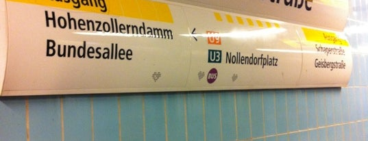 U Spichernstraße is one of U-Bahn Berlin.
