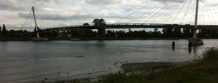 Passerelle Mimram — Brücke der zwei Ufer is one of Strasbourg.