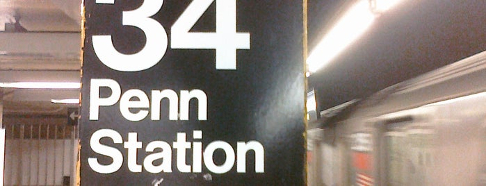 """MTA Subway - 34th St/Penn Station (1/2/3) is one of """"Be Robin Hood #121212 Concert"""" @ New York!."""