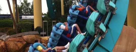 Kraken is one of Must Ride Roller Coasters.