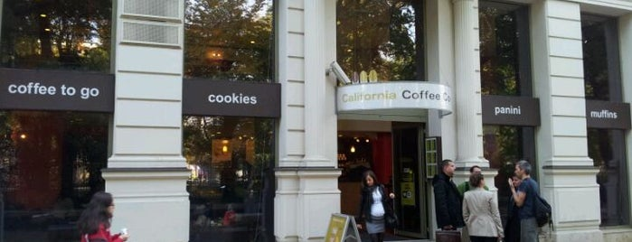California Coffee Company is one of Best places in Budapesten..