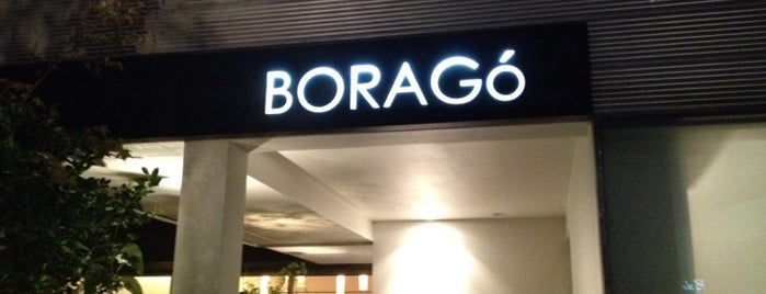 Boragó is one of SCL-Restaurant.