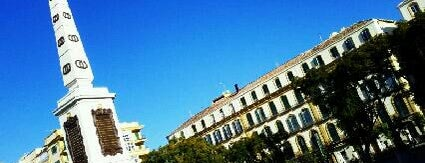 Plaza de la Merced is one of Málaga #4sqCities.