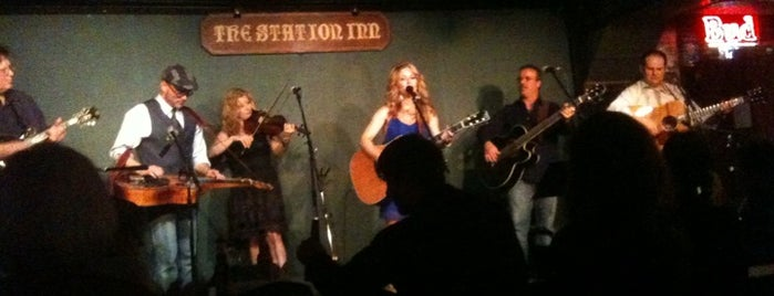 The Station Inn is one of Nashville Places to Be.