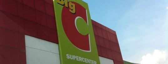 Big C is one of Bkk - Lopburi Way.