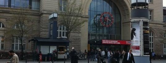Mannheim Hauptbahnhof is one of Bahnhöfe DB.