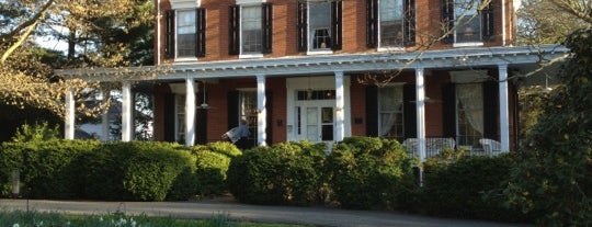 Brampton Bed and Breakfast Inn is one of Maryland Green Travel Hotels and Inns.