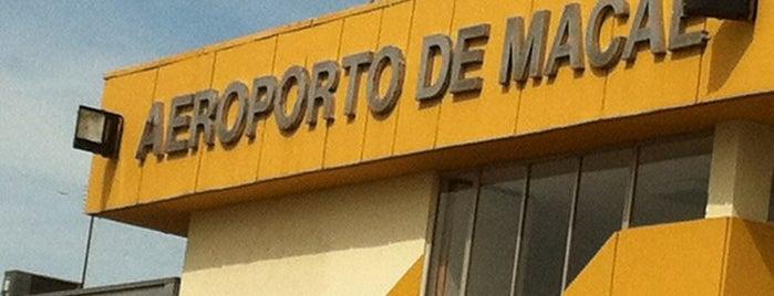 Aeroporto de Macaé (MEA) is one of Aeroportos do Brasil.