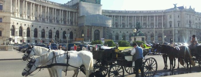Hofburg is one of Vienna, Austria - The heart of Europe - #4sqCities.