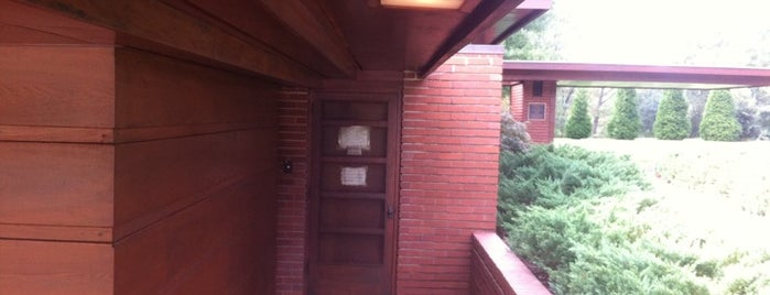 Frank Lloyd Wright - Rosenbaum House is one of Must-visit Places in the Shoals, AL #visitUS.