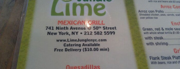 Lime Jungle is one of Mexican Resto Venue.