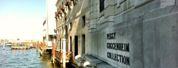 Collezione Peggy Guggenheim is one of Venice.