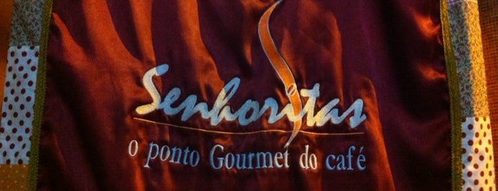 Café Senhoritas is one of Top 10 favorites places in Brasília, Brasil.