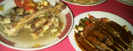 Sop & Sate Kambing Maman is one of Must Visit Places in Jakarta ( Indonesia ).