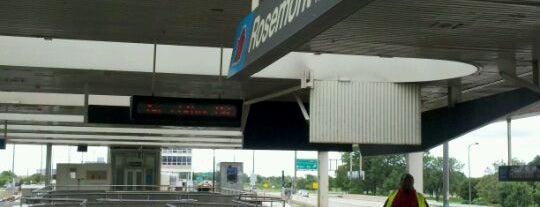CTA - Rosemont is one of CTA Blue Line.