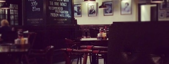 GOODMAN Steak House is one of Free wi-fi places in Kiev..