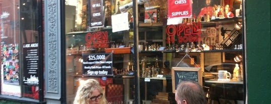 Village Chess Shop is one of Louie's NYC.
