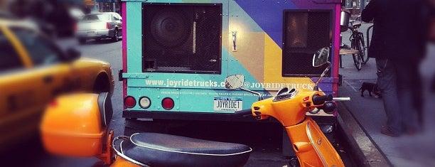 Joyride Truck is one of NYC Food Trucks.