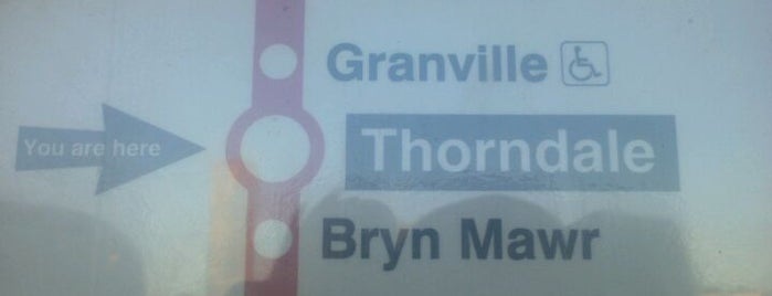 CTA - Thorndale is one of Train Stations.
