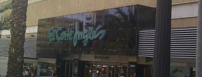 El Corte Inglés is one of Alicante #4sqCities.