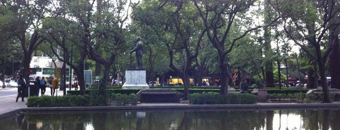 Parque De Los Espejos is one of Top picks for Plazas.