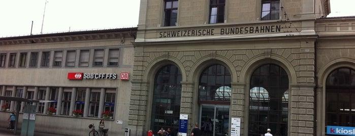Bahnhof Schaffhausen is one of DB ICE-Bahnhöfe.