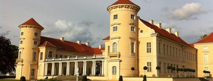 Schloss Rheinsberg is one of Brandenburg Blog.