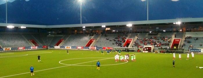 Arena Thun is one of Fussballstadien Schweiz.