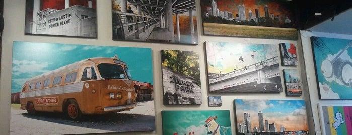 Austin Art Garage is one of The 15 Best Art Galleries in Austin.
