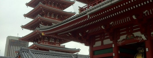 Senso-ji Temple is one of Bucket List Places.