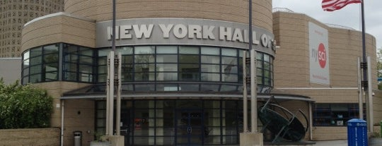 New York Hall of Science is one of Ultimate NYC Nerd List.