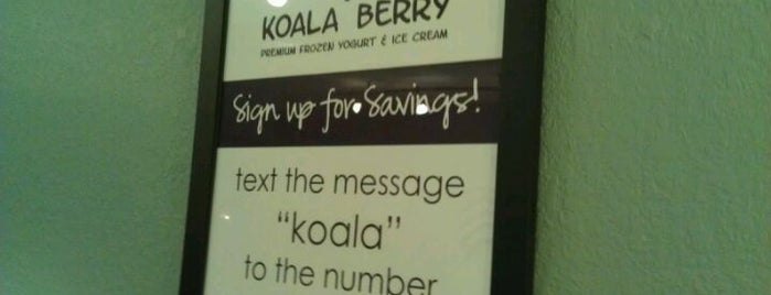Koala Berry is one of Free WiFi.