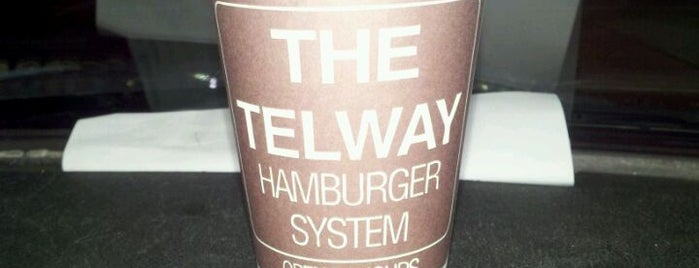 Telway Hamburgers is one of Cross-country places to eat, stay and see.